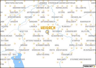 map of Weidach
