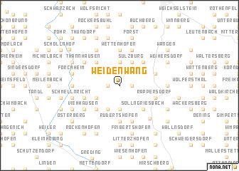 map of Weidenwang