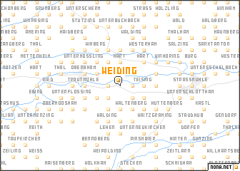 map of Weiding