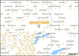 map of Weikertsham