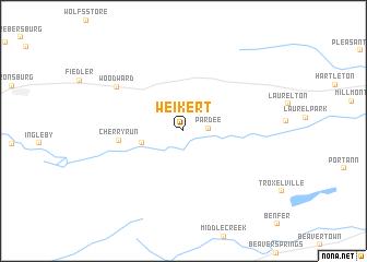 map of Weikert