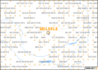 map of Weilerle