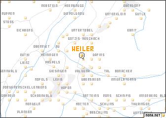 map of Weiler