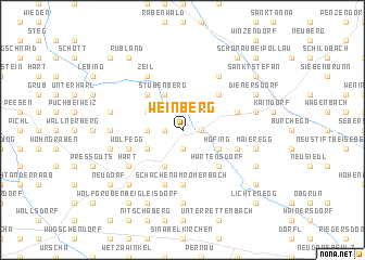 map of Weinberg