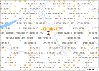 map of Weindorf