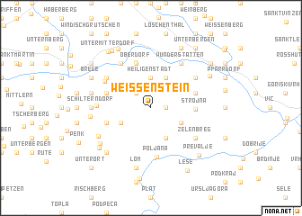 map of Weissenstein