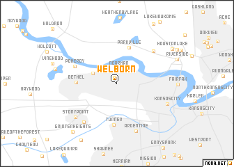 map of Welborn