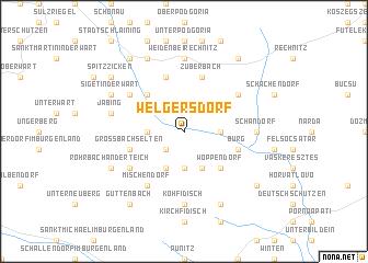 map of Welgersdorf