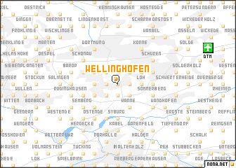 map of Wellinghofen