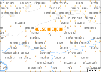 map of Welschneudorf