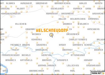map of Welschneudorf