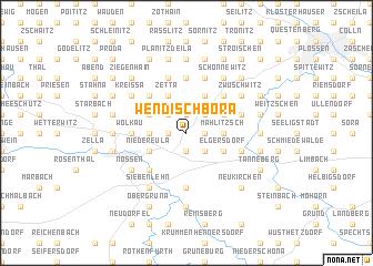 map of Wendischbora