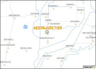 map of Weona Junction