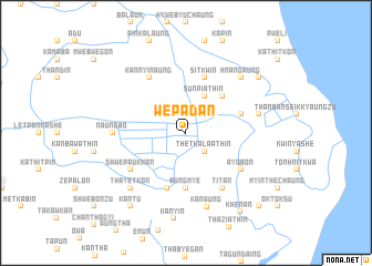 map of Wepadan