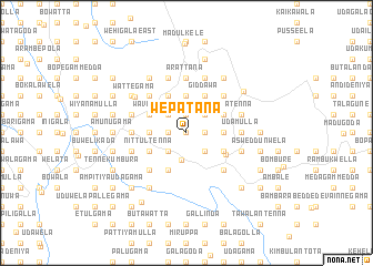 map of Wepatana