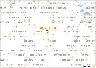 map of Werchow
