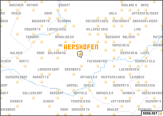 map of Wershofen