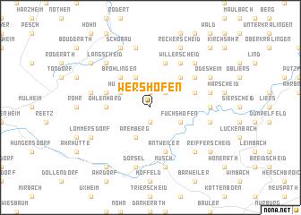 map of Wershofen