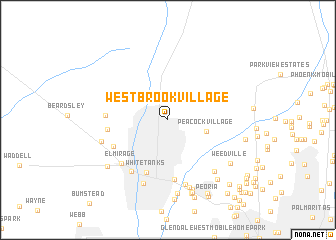 map of Westbrook Village
