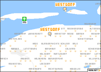 map of Westdorf