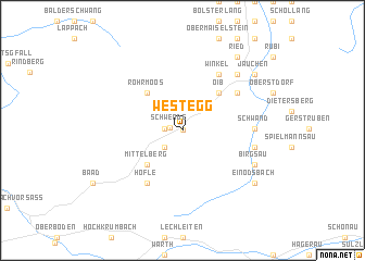 map of Westegg
