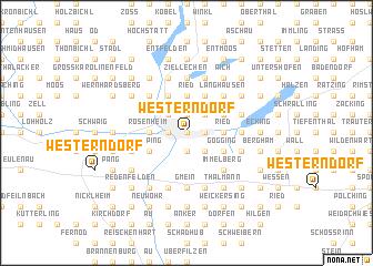 map of Westerndorf
