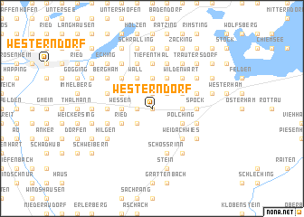 map of Westerndorf
