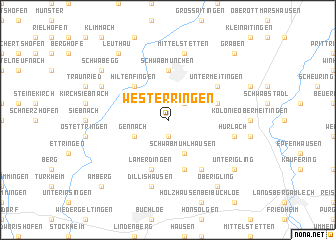map of Westerringen