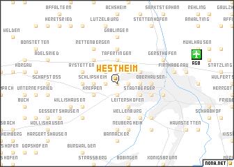 map of Westheim