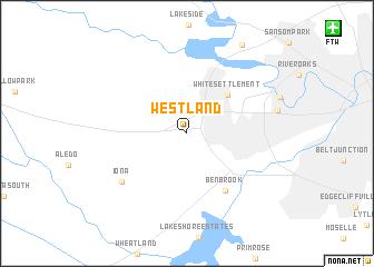 Westland (United States - USA) map - nona.net