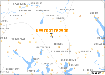 map of West Patterson