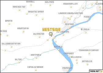 map of Westside