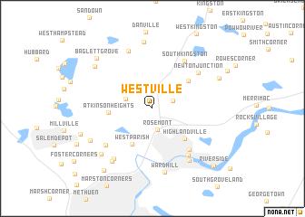 map of Westville