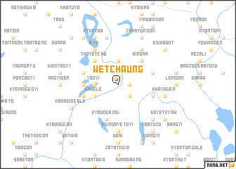 map of Wetchaung