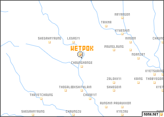 map of Wetpok