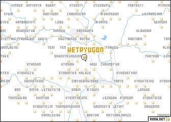 map of Wetpyugon