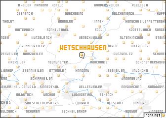 map of Wetschhausen