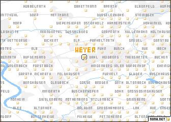 map of Weyer
