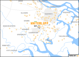 map of White Bluff
