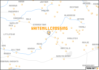 map of White Mill Crossing