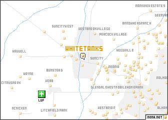 map of White Tanks