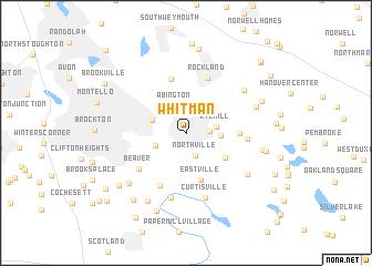 map of Whitman