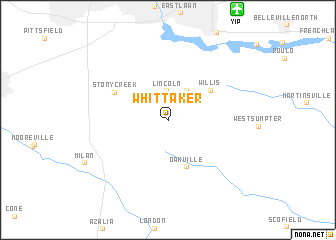 map of Whittaker