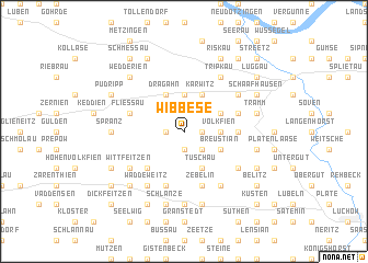 map of Wibbese