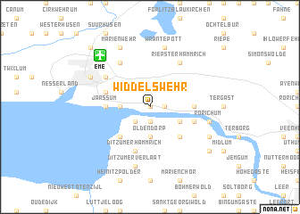 map of Widdelswehr