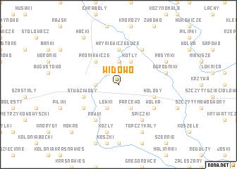 map of Widowo