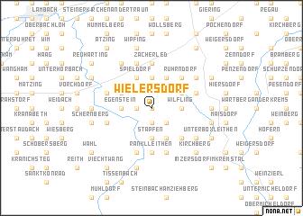 map of Wielersdorf