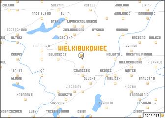 map of Wielki Bukowiec