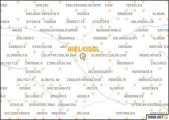 map of Wielki Dół