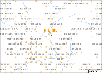 map of Wienau
